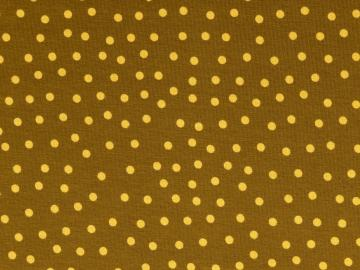 Jersey BW, Dots gelbbraun