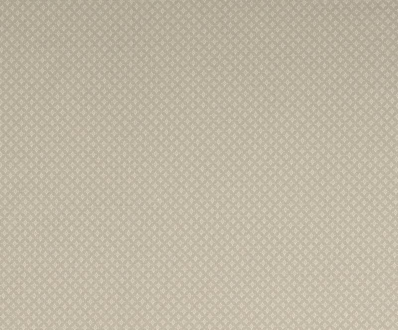 Baumwoll Druck grau Kreise