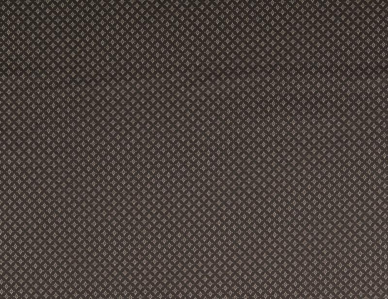 Baumwoll Druck schwarz Kreise