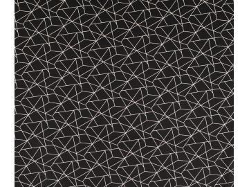 Baumwoll Druck schwarz grafisch