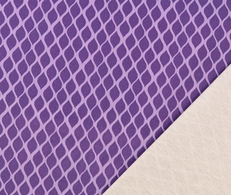 Canvas, Raute violett