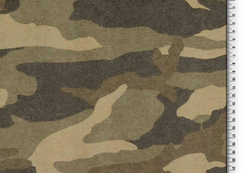 Sweat, BW, Camouflage olivangerauht