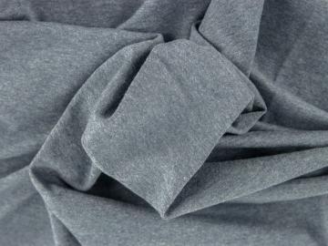 1,05m  Jersey BW jeansblau hell meliert uni