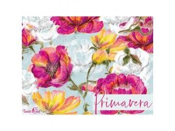 Lillestoff Primavera Gisela, Modalsweat  hellblau pink