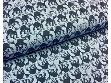Elefanten jersey  BW blau