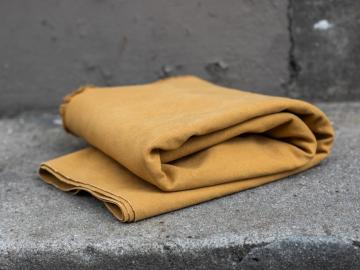 Canvas Heavy washed Mustard