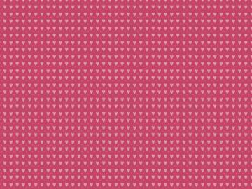 Baumwollstoff Kim Herzen pink-rose