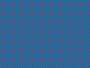 Baumwollstoff Kim Sterne kobaltblau-pink