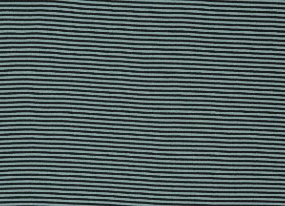 Bündchen BW Andy hellblau/dunkelblau glatt gestreift
