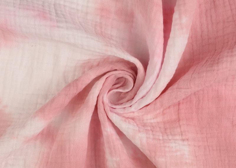 Double Gauze Batik rose