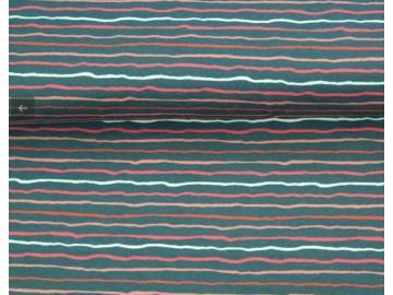 Jersey BW,  Streifen blau-rot-weiß