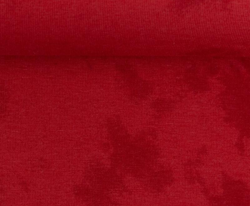 Jersey BW Batik burgundy