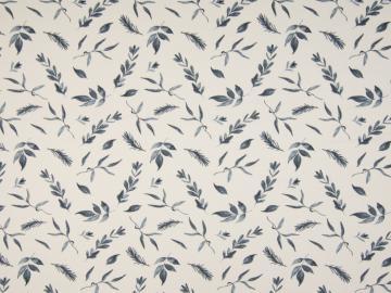 Jersey BW, Blätter blau-weiß