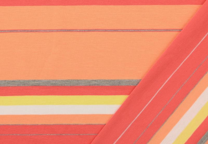 Jersey BW, Streifen orange