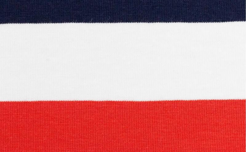 Jersey BW, Gala Streifen rot-blau-weiß