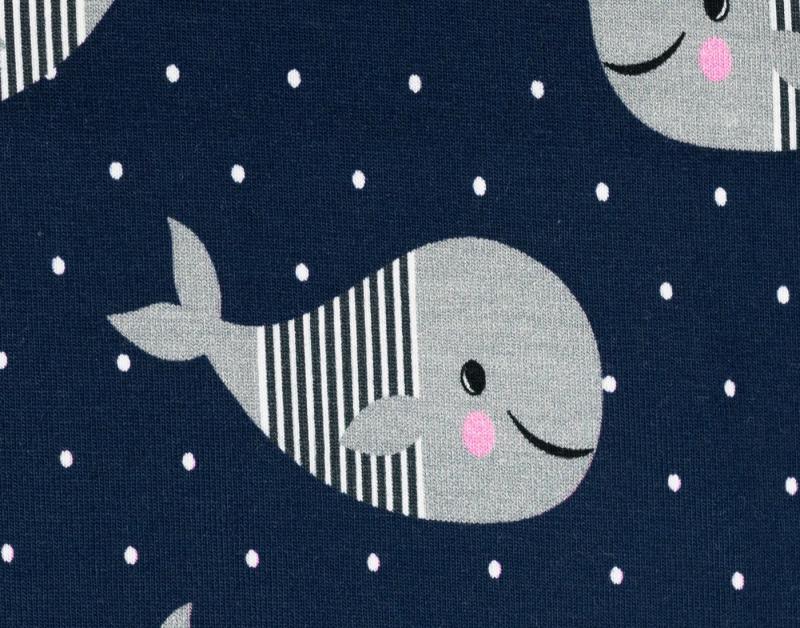 Jersey BW, Wale dunkelblau