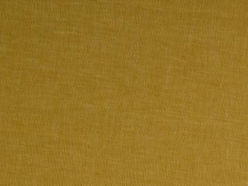 Leinen-Baumwolle  Fischgrat senfgelb