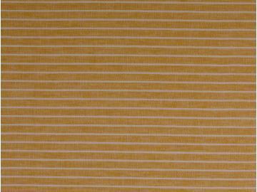 Leinen-Baumwolle  Streifen senfgelb
