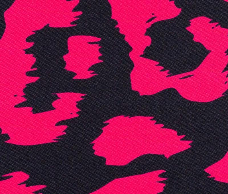 Softshell Fiete schwarz neon pink