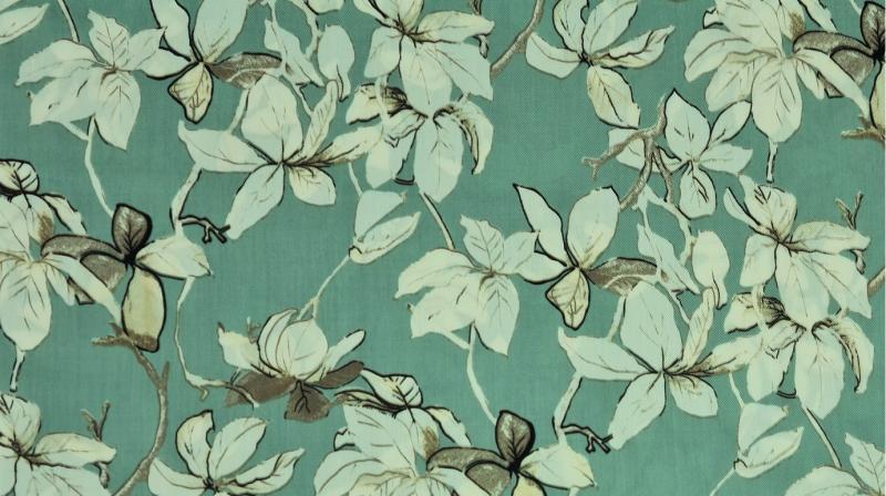 Tencel floral mint