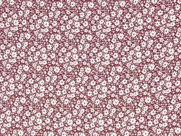 Viskose, Streublümchen bordeaux