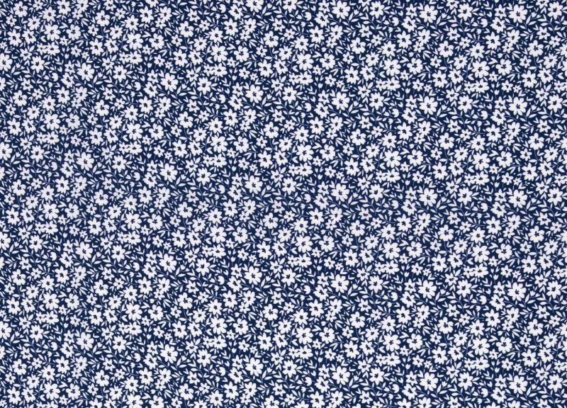 Viskose, Streublümchen dunkelblau