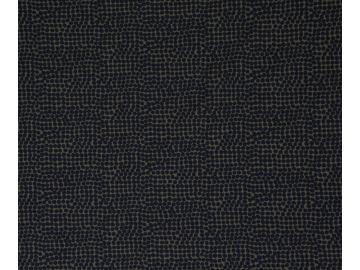 Viskosejersey Alessio, oliv blau gepunktet