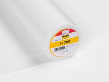 Vlieseline H 200 Bügeleinlage weiß