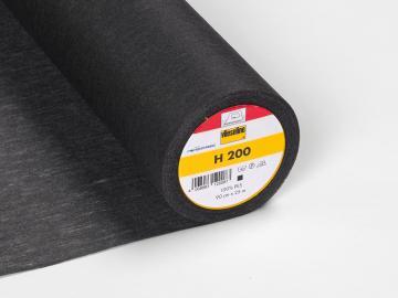 Vlieseline H 200 Bügeleinlage schwarz